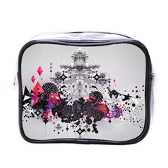 Figure Circle Triangle Mini Toiletries Bags by amphoto