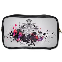 Figure Circle Triangle Toiletries Bags 2 Side by amphoto