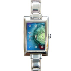 Connection Ball Light  Rectangle Italian Charm Watch by amphoto