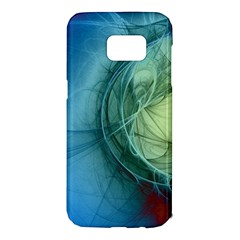 Connection Ball Light  Samsung Galaxy S7 Edge Hardshell Case by amphoto