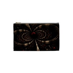 Circles Spheres Lines  Cosmetic Bag (small)  by amphoto