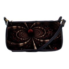 Circles Spheres Lines  Shoulder Clutch Bags by amphoto