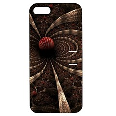 Circles Spheres Lines  Apple Iphone 5 Hardshell Case With Stand by amphoto