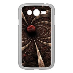 Circles Spheres Lines  Samsung Galaxy Grand Duos I9082 Case (white) by amphoto