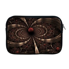 Circles Spheres Lines  Apple Macbook Pro 17  Zipper Case by amphoto