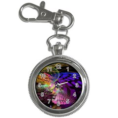 Fractal Patterns Background  Key Chain Watches by amphoto