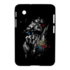 Man Rage Screaming  Samsung Galaxy Tab 2 (7 ) P3100 Hardshell Case  by amphoto