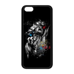 Man Rage Screaming  Apple Iphone 5c Seamless Case (black) by amphoto
