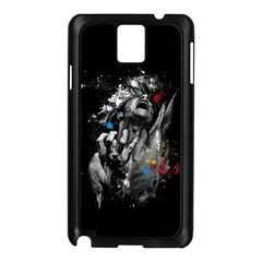 Man Rage Screaming  Samsung Galaxy Note 3 N9005 Case (black) by amphoto