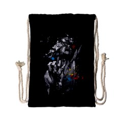 Man Rage Screaming  Drawstring Bag (small)