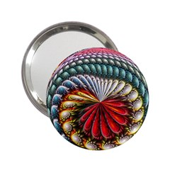 Circles Lines Background  2 25  Handbag Mirrors by amphoto