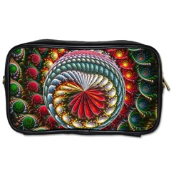 Circles Lines Background  Toiletries Bags by amphoto
