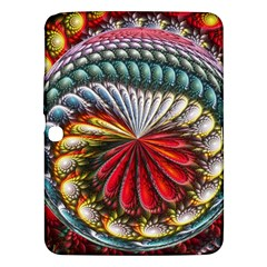 Circles Lines Background  Samsung Galaxy Tab 3 (10 1 ) P5200 Hardshell Case  by amphoto