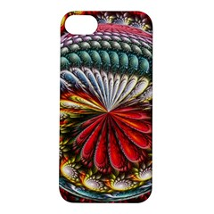 Circles Lines Background  Apple Iphone 5s/ Se Hardshell Case by amphoto
