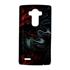 Lines Curves Background  Lg G4 Hardshell Case by amphoto