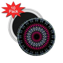 Circles Background Lines  2 25  Magnets (10 Pack)  by amphoto