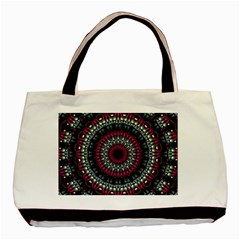 Circles Background Lines  Basic Tote Bag by amphoto