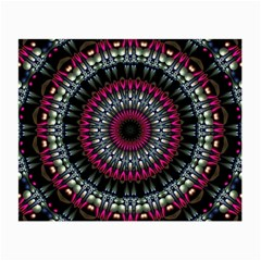 Circles Background Lines  Small Glasses Cloth (2 Side) by amphoto
