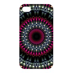 Circles Background Lines  Apple Iphone 4/4s Hardshell Case by amphoto