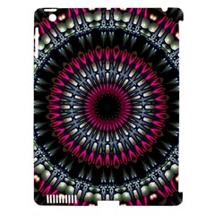 Circles Background Lines  Apple Ipad 3/4 Hardshell Case (compatible With Smart Cover) by amphoto
