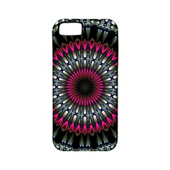 Circles Background Lines  Apple Iphone 5 Classic Hardshell Case (pc+silicone) by amphoto