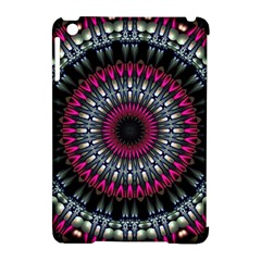 Circles Background Lines  Apple Ipad Mini Hardshell Case (compatible With Smart Cover) by amphoto