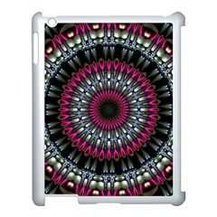 Circles Background Lines  Apple Ipad 3/4 Case (white) by amphoto