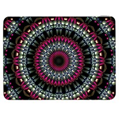 Circles Background Lines  Samsung Galaxy Tab 7  P1000 Flip Case by amphoto