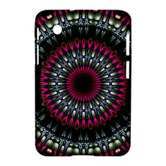 Circles Background Lines  Samsung Galaxy Tab 2 (7 ) P3100 Hardshell Case  by amphoto