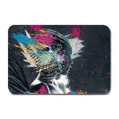 Face Paint Explosion 3840x2400 Plate Mats by amphoto