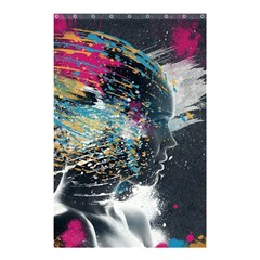 Face Paint Explosion 3840x2400 Shower Curtain 48  X 72  (small)  by amphoto