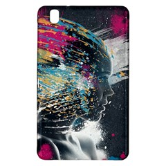 Face Paint Explosion 3840x2400 Samsung Galaxy Tab Pro 8 4 Hardshell Case by amphoto