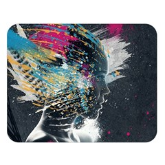 Face Paint Explosion 3840x2400 Double Sided Flano Blanket (large)  by amphoto