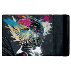 Face Paint Explosion 3840x2400 Apple Ipad Pro 12 9   Flip Case by amphoto