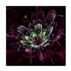 Flower Burst Background  Tile Coasters