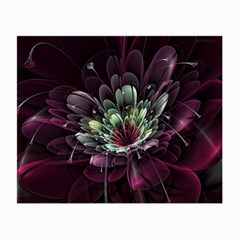 Flower Burst Background  Small Glasses Cloth (2 Side) by amphoto