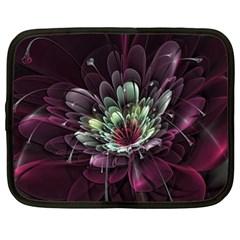 Flower Burst Background  Netbook Case (XXL)
