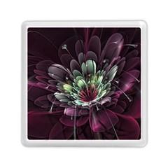 Flower Burst Background  Memory Card Reader (Square)