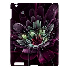 Flower Burst Background  Apple Ipad 3/4 Hardshell Case by amphoto