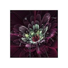 Flower Burst Background  Acrylic Tangram Puzzle (4  X 4 ) by amphoto