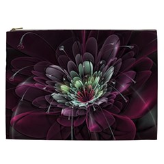 Flower Burst Background  Cosmetic Bag (XXL)