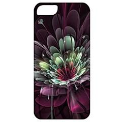 Flower Burst Background  Apple iPhone 5 Classic Hardshell Case