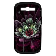 Flower Burst Background  Samsung Galaxy S III Hardshell Case (PC+Silicone)