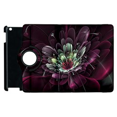 Flower Burst Background  Apple iPad 2 Flip 360 Case