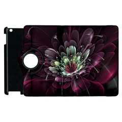 Flower Burst Background  Apple Ipad 3/4 Flip 360 Case by amphoto