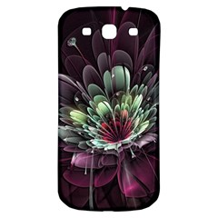 Flower Burst Background  Samsung Galaxy S3 S Iii Classic Hardshell Back Case by amphoto