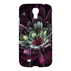 Flower Burst Background  Samsung Galaxy S4 I9500/i9505 Hardshell Case by amphoto
