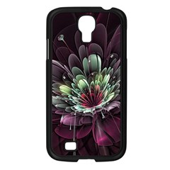 Flower Burst Background  Samsung Galaxy S4 I9500/ I9505 Case (black) by amphoto