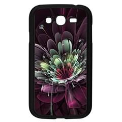Flower Burst Background  Samsung Galaxy Grand DUOS I9082 Case (Black)