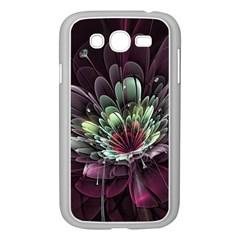 Flower Burst Background  Samsung Galaxy Grand DUOS I9082 Case (White)